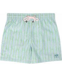 Pink House Mustique Men's Swim Trunks - Green