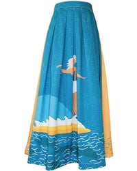 My Pair Of Jeans - Surf Maxi Skirt - Lyst