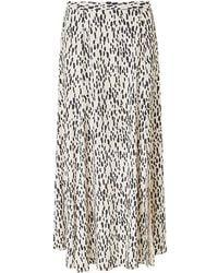 Baukjen Lexie Skirt In Stone Dash Print - Multicolour