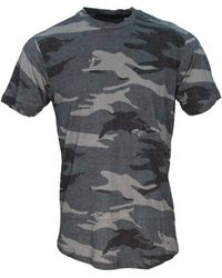 lords of harlech Taylor Crane Camo Charcoal - Grey