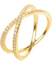 LÁTELITA London - Sparkling Cosmos Ring Gold - Lyst