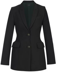 Flow Tailored Blazer In Black