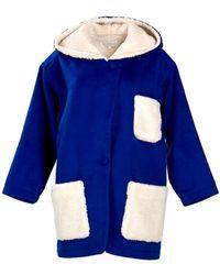 Kristinit Cuddly Coat - Blue