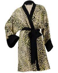 niLuu Bowie Mini Kimono Robe - Multicolour