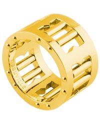 Tissuville Segra Ring Gold Shiny - Metallic