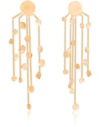 Lily Flo Jewellery - Scattered Stars Solid Gold Chandelier Earrings - Lyst