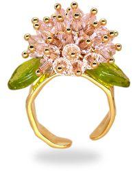 Annele Meadowsweet Ring - Green