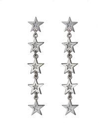 Edge Only Megastar 5 Star Drop Earrings - Multicolour