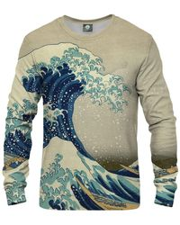 Aloha From Deer Kanagawa Wave Sweatshirt - Multicolour