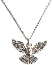 Serge Denimes - Silver Dove Necklace - Lyst