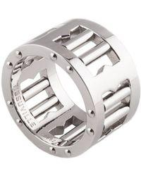 Tissuville - Segra Ring Silver Matte - Lyst