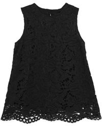 Lindsay Nicholas New York - Lace Top In Black - Lyst