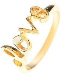 LÁTELITA London - Cosmic Love Ring Gold - Lyst