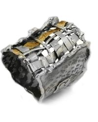 Katarina Cudic Fence Band Ring - Multicolour