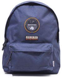 Napapijri Voyage Two Backpack - Blue Marine