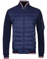 Polo Ralph Lauren Navy Active Fit Hybrid Down Jacket - Blue