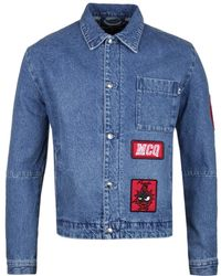 McQ Blue Denim Jacket