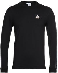 Pyrenex Bario Black Long Sleeve T-shirt
