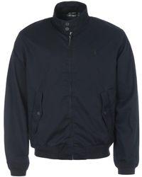 Polo Ralph Lauren - Cotton Twill Mock Neck Jacket - Lyst