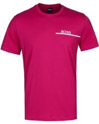 BOSS by Hugo Boss - Pink Rn 24 T-shirt - Lyst