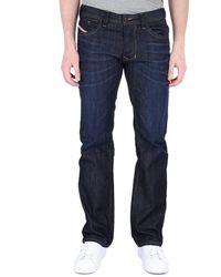 DIESEL Larkee Dark Blue Regular Fit Jeans