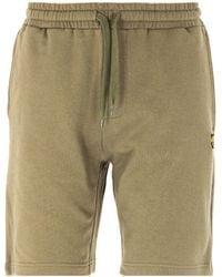 Lyle & Scott Lichen Green Sweat Shorts
