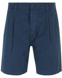 Albam Navy Ripstop Shorts - Blue
