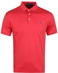 Polo Ralph Lauren Western Red Short Sleeve Slim Fit Polo Shirt