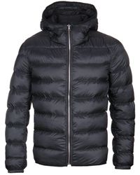 C.P. Company Hooded Black Reversible Down Liner