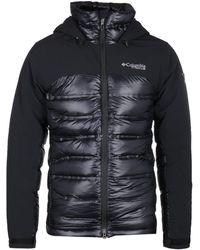 Columbia Heatzone 1000 Titanium Turbo Black Hooded Jacket