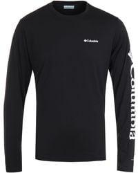 Columbia Miller Valley Long Sleeve T-shirt - Black
