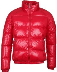 Pyrenex Vintage Mythik Red Down Jacket
