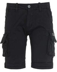 Alpha Industries Crew Shorts - Black