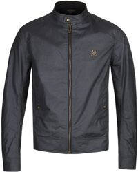 d7fd7930fe Belstaff Tyefield Cotton Jacket in Green for Men - Lyst