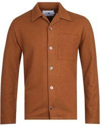 NN07 Miyagi 6394 Brown Shirt