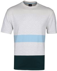 BOSS Orange - Beige Taxman T-shirt - Lyst