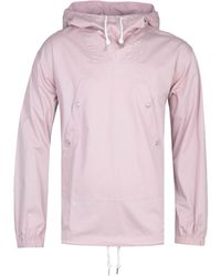 Pretty Green Forest Overhead Pink Hooded Jacket