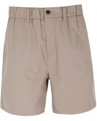 Lyle & Scott Stone Ripstop Shorts - Natural