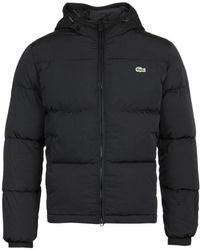 Lacoste Down Padded Black Jacket