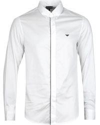 Emporio Armani White Camicia Shirt
