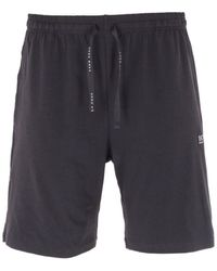 BOSS by HUGO BOSS Bodywear Mix & Match Sustainable Sweat Shorts - Black