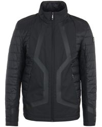 BOSS by Hugo Boss Water Repellent Insulated Black Jacket