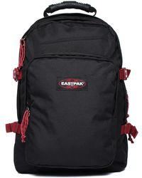 Eastpak - Provider Black & Burgundy Backpack - Lyst
