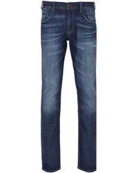 Tommy Hilfiger - Denton Straight Leg Regular Fit Ottawa Indigo Jeans - Lyst