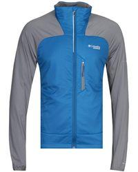 Columbia Blue Caldorado Insulated Jacket