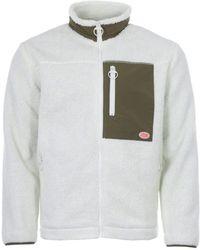 Armor Lux Heritage Sherpa Fleece Jacket - Multicolour