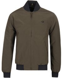 Fred Perry - Dark Thorn Ripstop Bomber Jacket - Lyst