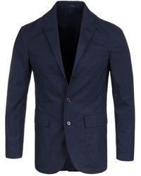 Polo Ralph Lauren - Navy Pinstripe Sportcoat Blazer - Lyst