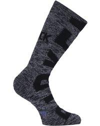 Birkenstock Big Logo Cotton Slub Black Socks