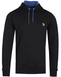 PS by Paul Smith Black Loopback Hoodie